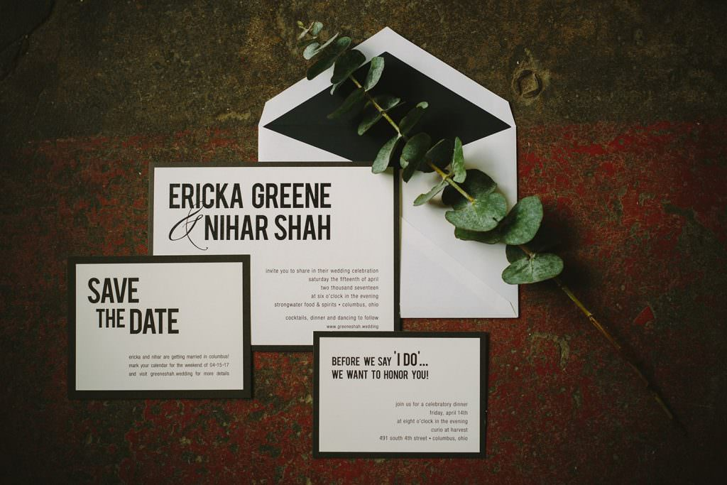 wedding details invites rustic save the date
