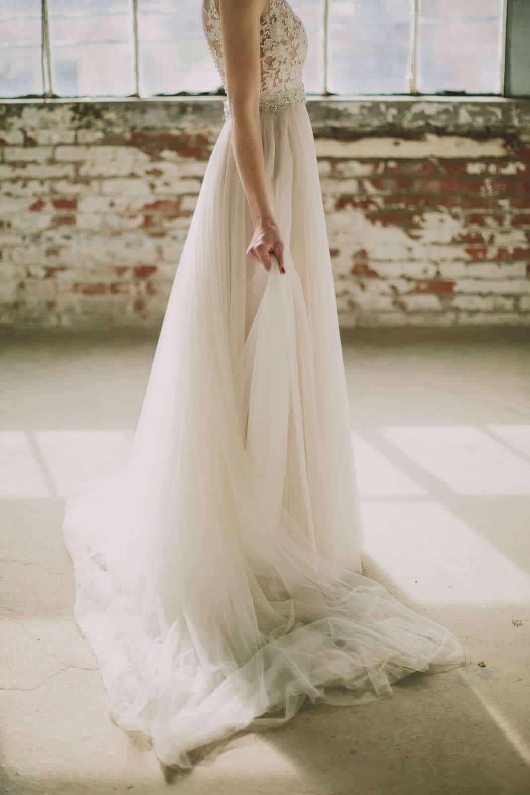 bride, bhldn, wedding dress, stylish, modern, love, adam lowe photography, strongwater, 400 rich