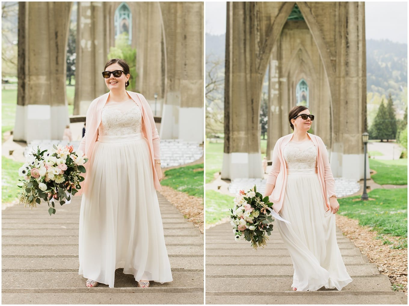 adam lowe photography, Portland, Oregon, Wedding, cathedral park, PDX, pacific northwest, outdoor wedding, bride and groom, coopers hall