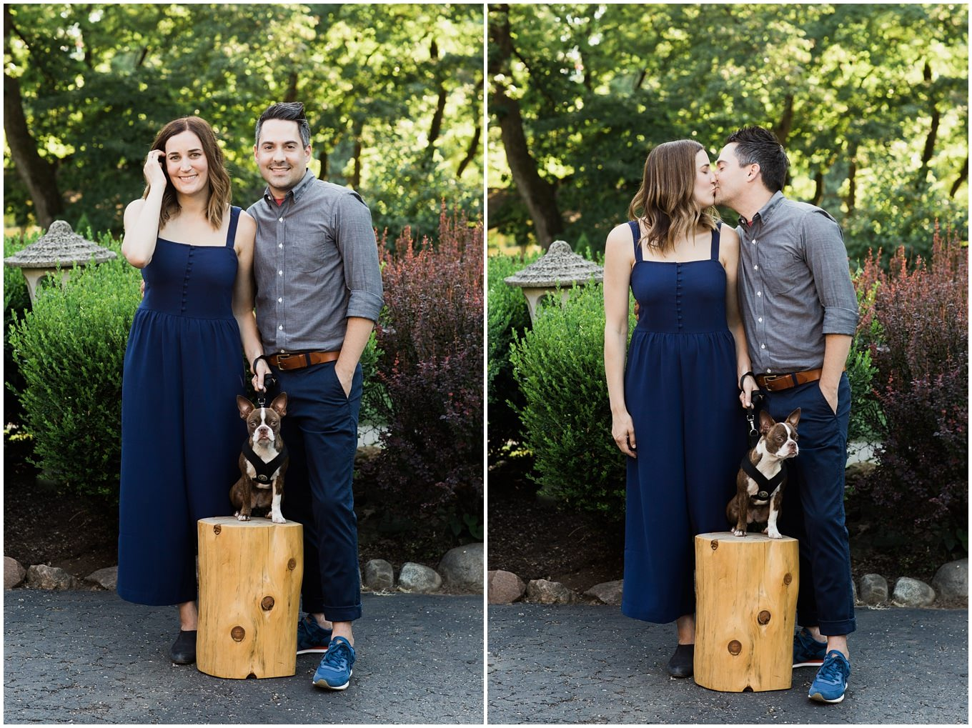 adam lowe photography, boston terrier, couples session, love, style, modern, columbus, ohio, editorial