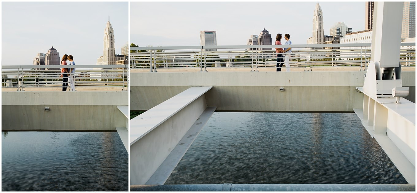 adam lowe photography, engagement session, love, gay, columbus, ohio, pup, german village, downtown,