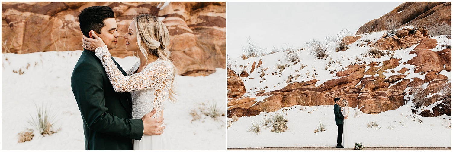 adam lowe photography , Columbus, Ohio, Denver, Colorado, Winter wedding, red rocks, mountains, outdoor wedding, destination photographer, the black tux, bride, groom, stylish, boho, floral,