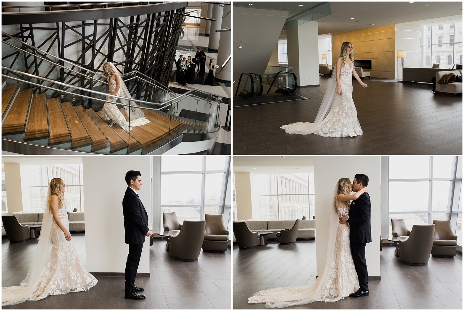 adam lowe photography, wedding, style, love, bride and groom, Cleveland wedding, the black tux, bhldn, perfectly planned by val, made with love bridal, wedding dress, hilton, windows on the river,