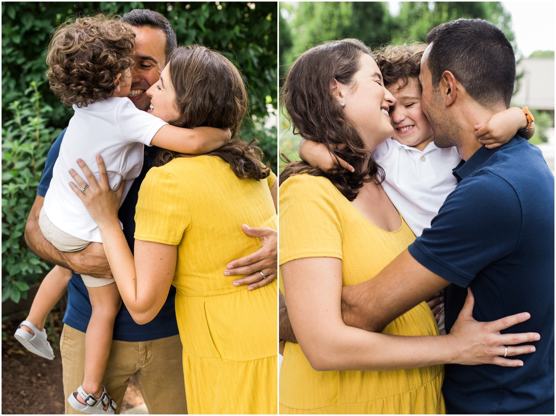 adam lowe photography / family session / Frankilin Park Conservatory
